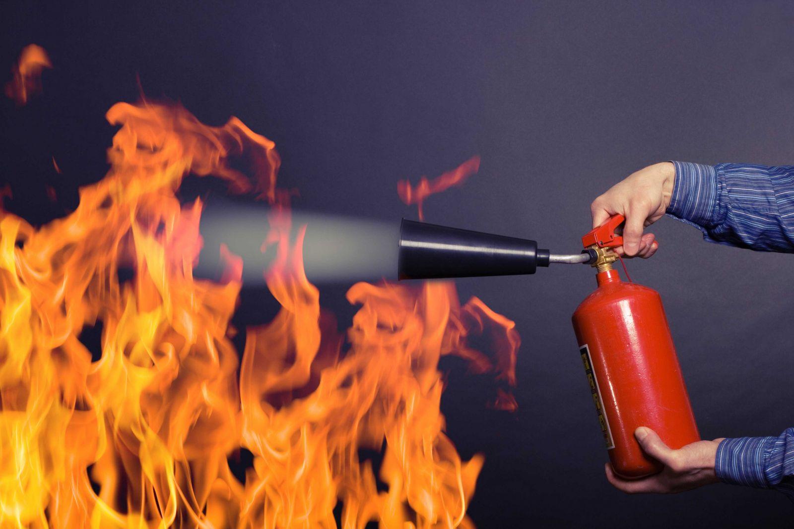 Обучение пожарно-техническому минимуму.